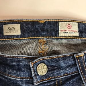 Ag Adriano Goldschmied Jeans - AG Stilt cigarette Jeans size 28R